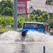 The worst flooding in  Nakhon Pathom, Thailand — ストック写真