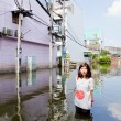 Worst flooding in Jaransanitwong — Stock Photo #32952367