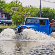 Worst flooding in Nakhon Pathom, Thailand — Stock Photo #32958389