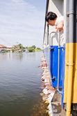The worst flooding in Thailand — Fotografia Stock