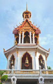 Bell tower in Bangkok, Thailand — Stock fotografie