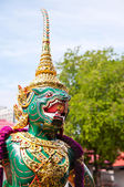 Particular of the Thai Royal Barge — Stock Photo