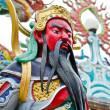 Statue Of Guan Yu ,god of honor — Stock Photo
