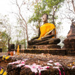 Stock Photo: Buddhstatue in Sukhothai Historical Park