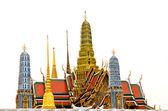 Wat pra kaew temple — Стоковое фото