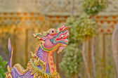 Himmapan animals statue — Stock Photo