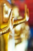 Hand of Buddha statue — Stock Photo