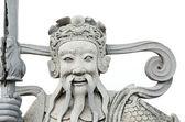 Chinese god standbeeld in wat pho boeddhistische tempel, bangkok, thailan — Stockfoto