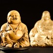 Smiling Buddha  God of Happiness — Stock Photo