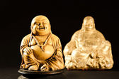 Smiling Buddha God of Happiness — 图库照片