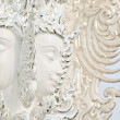 Brahmstatue in Wat Rong Khun, Thailand. — Stock Photo #34195165