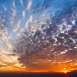 Beautifu sunset view of  sky and cloud — Stock Photo
