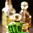 Stock Photo: Set of luxury perfume bottles