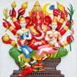 India God Ganesha or God of success — Stock Photo