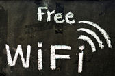 Free wifi symbol — Stock Photo