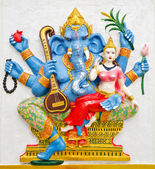 India God Ganesha or God of success — Stok fotoğraf