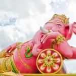 India God Ganesha or God of success — Stock Photo #38078299