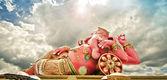 India God Ganesha or God of success — Stock Photo