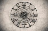 Zegar z cyfry rzymskie — Zdjęcie stockowe