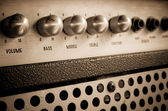 Guitar amplifier — Stock Photo