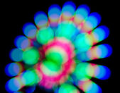Abstract colorful flower bokeh — Stock Photo