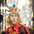 Unidentified people dress up like Monkey King — Stock Photo #40201417