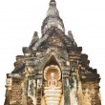 Pagoda and Buddha Statue — Stock Photo #40654799