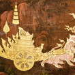 Stock Photo: Murals in Wat PhrKaew,Bangkok,Thailand.