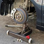 Disk brake assembly — Stock Photo