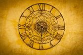 часы с римскими номерами — Стоковое фото