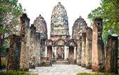 Wat si sawai - antiguo templo budista. — Foto de Stock