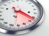 απώλεια βάρους重量损失 — 图库照片