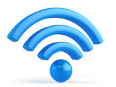 Wifi 3d icon — Stock Photo