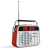 Retro Radio — Stock Photo