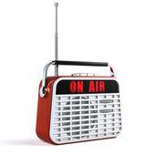 Retro radyo — Stok fotoğraf