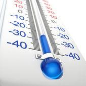 Termómetro frío — Foto de Stock