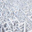 Letters background — Stock Photo