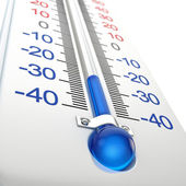 Cold thermometer — Stock Photo