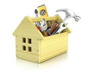 House toolbox — Stock Photo