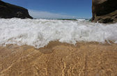 Karşıdan gelen dalga — Stok fotoğraf