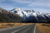 New Zealand Southern Alps — Stock Photo