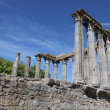 Roman Temple of Evora — Stock Photo