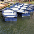 Stock Photo: Row Boats