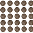 Australian Ten Cent Coins — Stock Photo