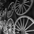 Wagon wheels — Photo