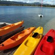 Kayaks - Vanuatu — Stock Photo