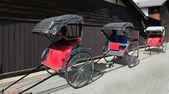 Rickshaws - Japan — Stock Photo