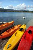 Kayaks - Vanuatu — Stock Photo
