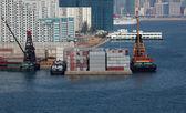 Terminal de contenedores — Foto de Stock