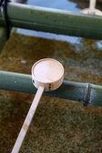 Japanese Temple Ladle — Stock Photo